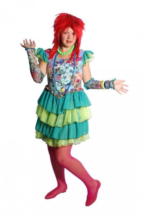 Cindy_Lauper_Blue_Floral_Dress