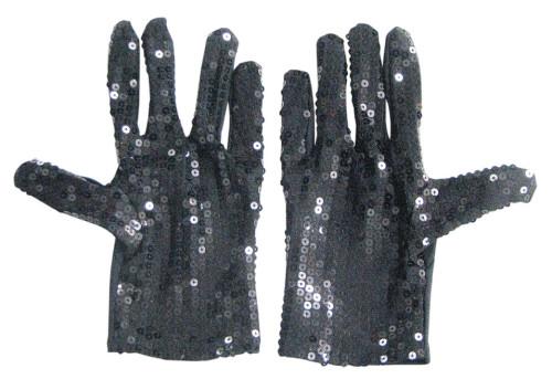 GloveSequinBlkN29052B