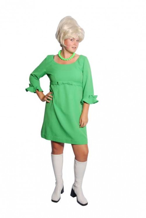 Green_Babydoll_Minidress