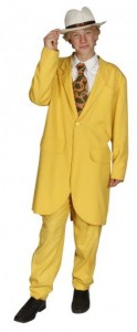 Jazz musician yellowsuit