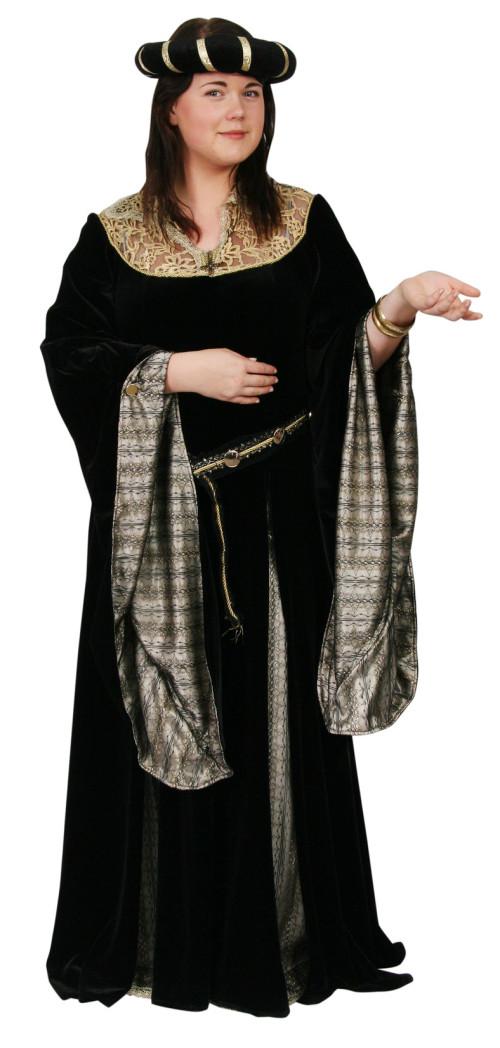 MedievalBlackGoldVelvet