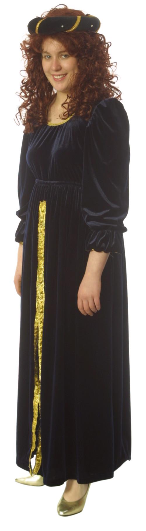 Medieval_Navy_Velvet_Dress