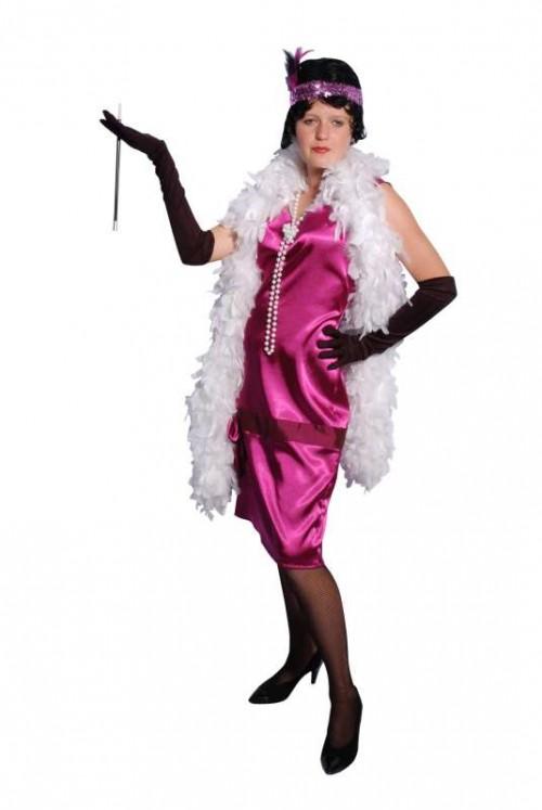 Pink_Satin_Drop_Waisted_1920s_Dress