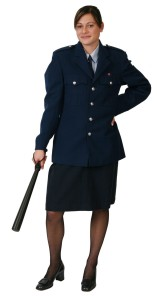 PoliceWomanBlueSet