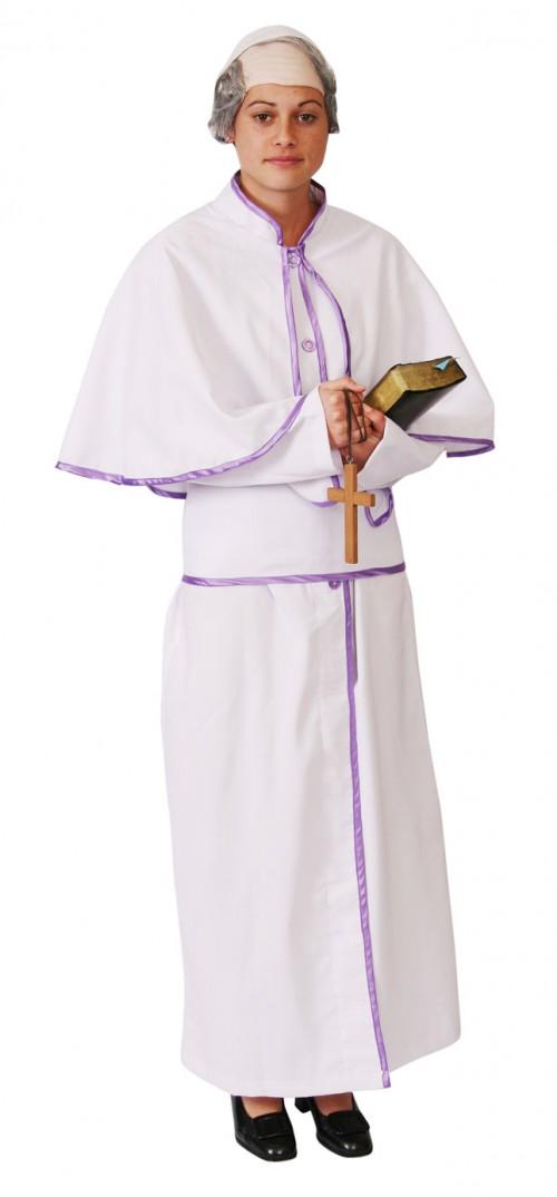 PopeRobesWhiteLavender