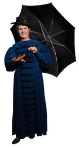 Victorain_Blue_Puff_Sleeve_Dress