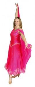 ballroom pink gown
