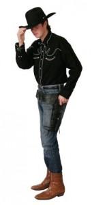 cowboy black shirt