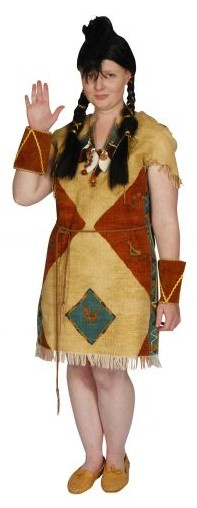 indian squaw aztec dress