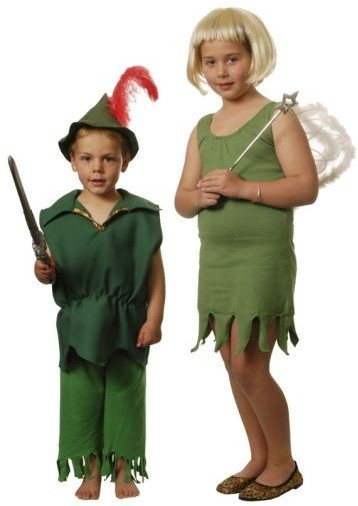 peter pan and tinkerbelle child