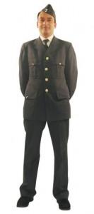 steel grey serviceman